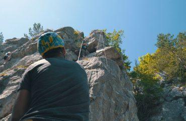 tábor aktivity lezenie skaly