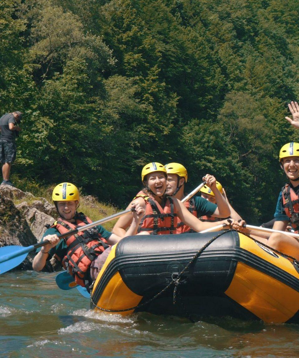 tábor aktivity raft