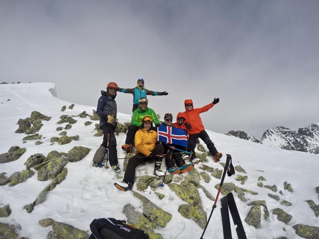 skialpinizmus začiatočník